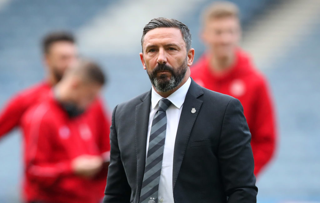 McInnes explains why key Aberdeen signing was subbed against Accies