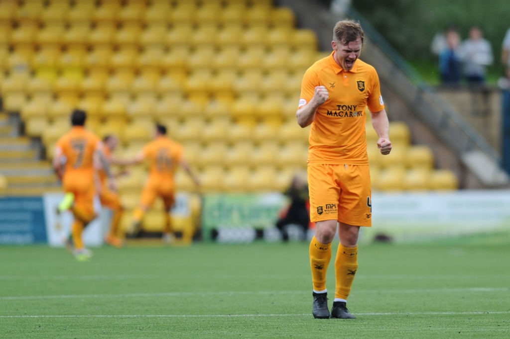 'I loved his style' - Livi star relishing tussle with Rangers veteran