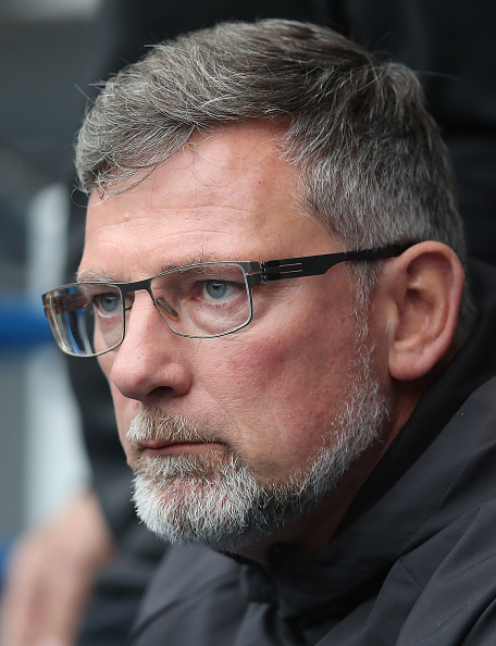 GLASGOW, SCOTLAND - OCTOBER 07: Heart of Midlothian manager Craig Levein is seen during the Scottish Ladbrokes Premiership match between Rangers and Hearts at Ibrox Stadium on October 7, 2018 in Glasgow, Scotland.