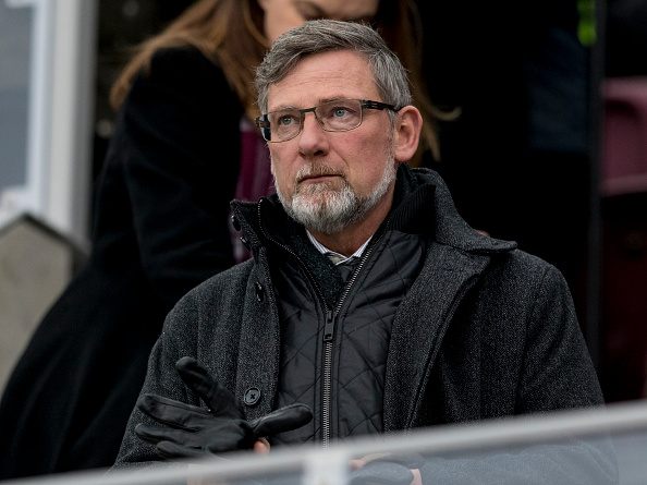 20th January 2019, Tynecastle Park, Edinburgh, Scotland; Scottish Cup football fourth round, Heart of Midlothian versus Livingston; Craig Levein manager of Hearts watches from the stands