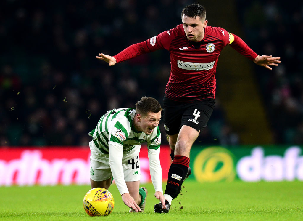 -year-old reckons his team missed a chance to take points from Celtic