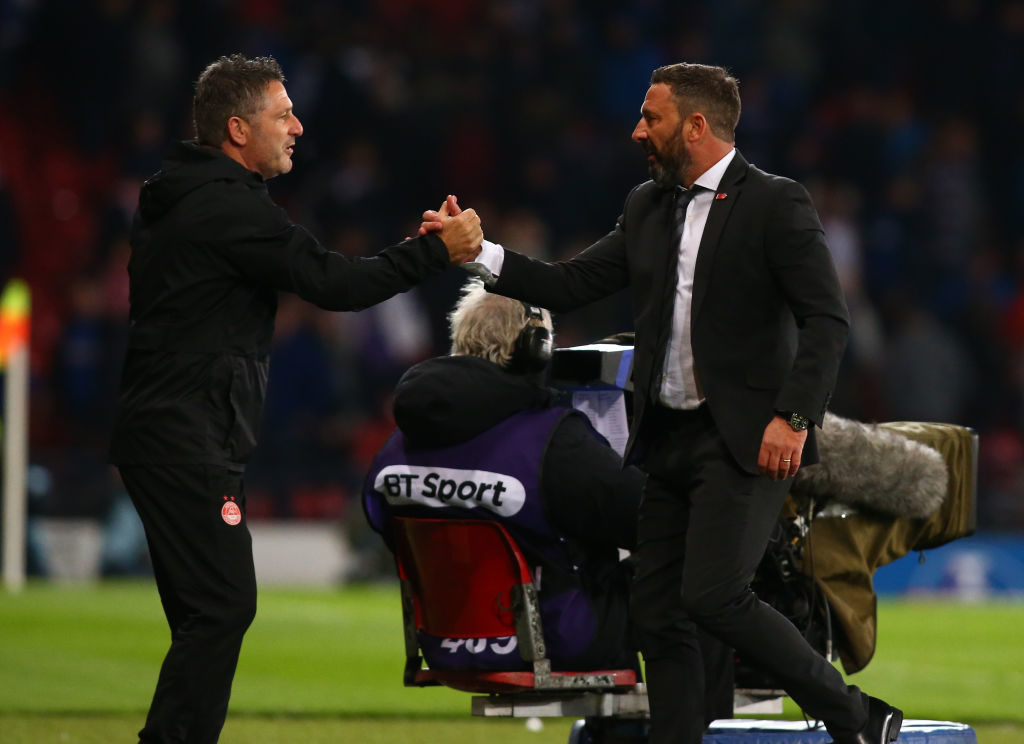 Aberdeen can beat Rangers claims manager after promising month
