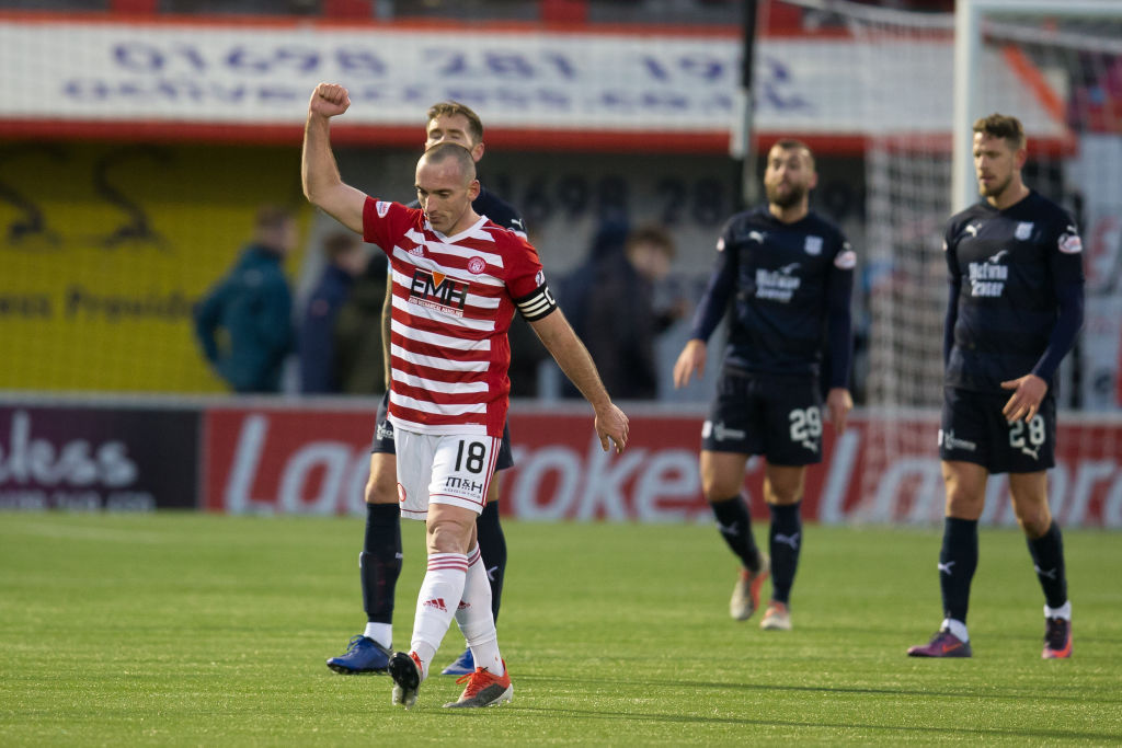 Rice 'thrilled' for excellent Hamilton stars after beating Motherwell on the road