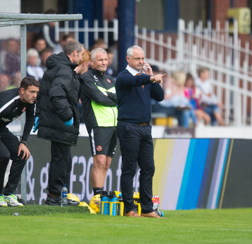 Falkirk manager reveals clear-the-air talks after last-minute heartbreak