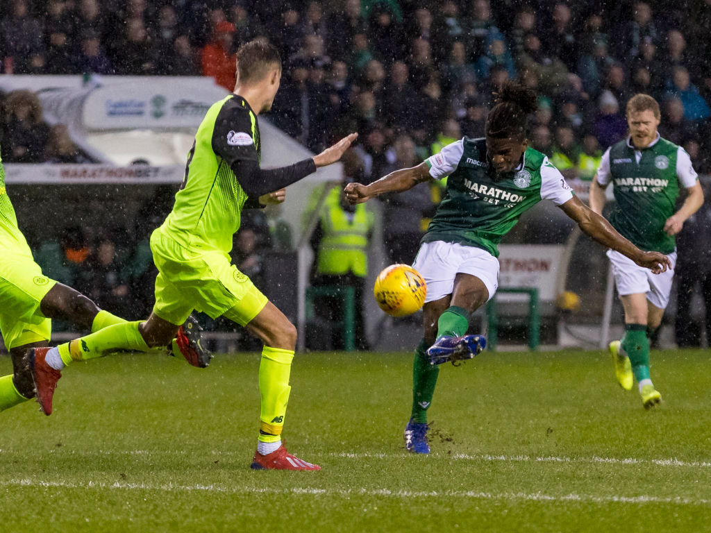 'Incredible love' - Omeonga discusses his Hibs return
