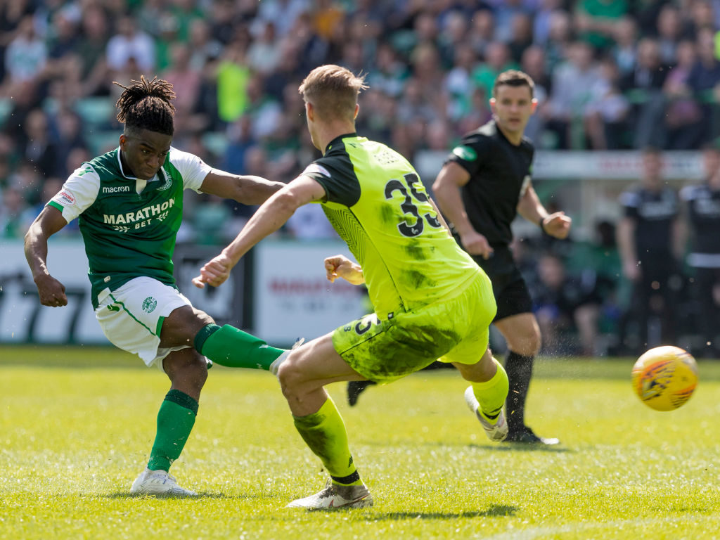'He brings something different' - Hibs signing hailed by Ross after first start