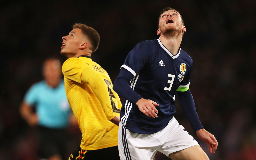The last time Scotland played Belgium was 2018.