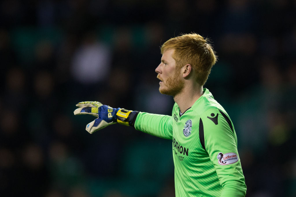 Bogdan during his spell at Hibs