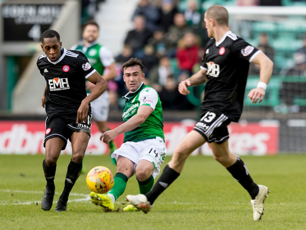 Manager questions handball decision in loss to Hibs