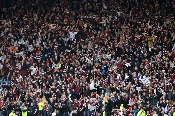 'Away for a lie down' - Some Hearts fans left breathless following storming win