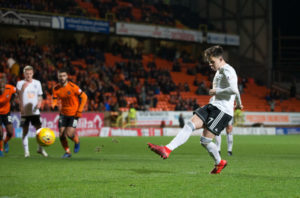 Shankland made a big statement on his Dundee United league debut.