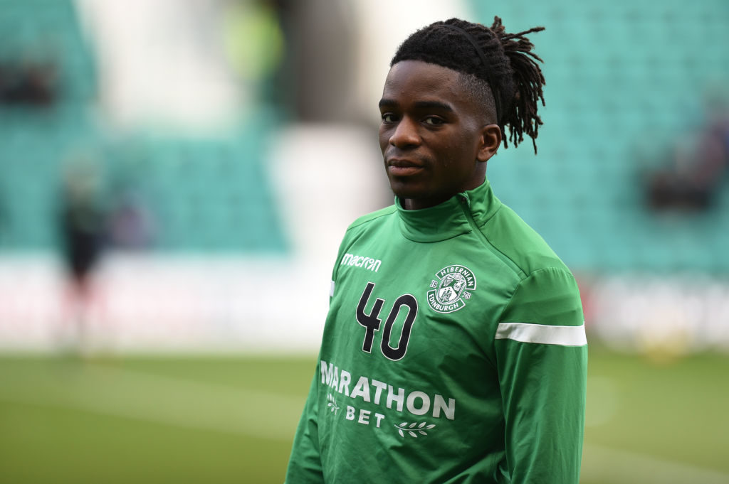 'The new Patrice Evra' - Hibs star's Twitter post has these fans entertained
