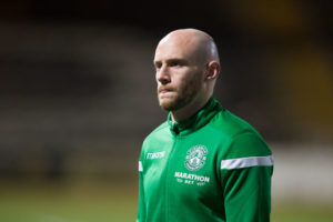 Hibs' Gray has urged thought.