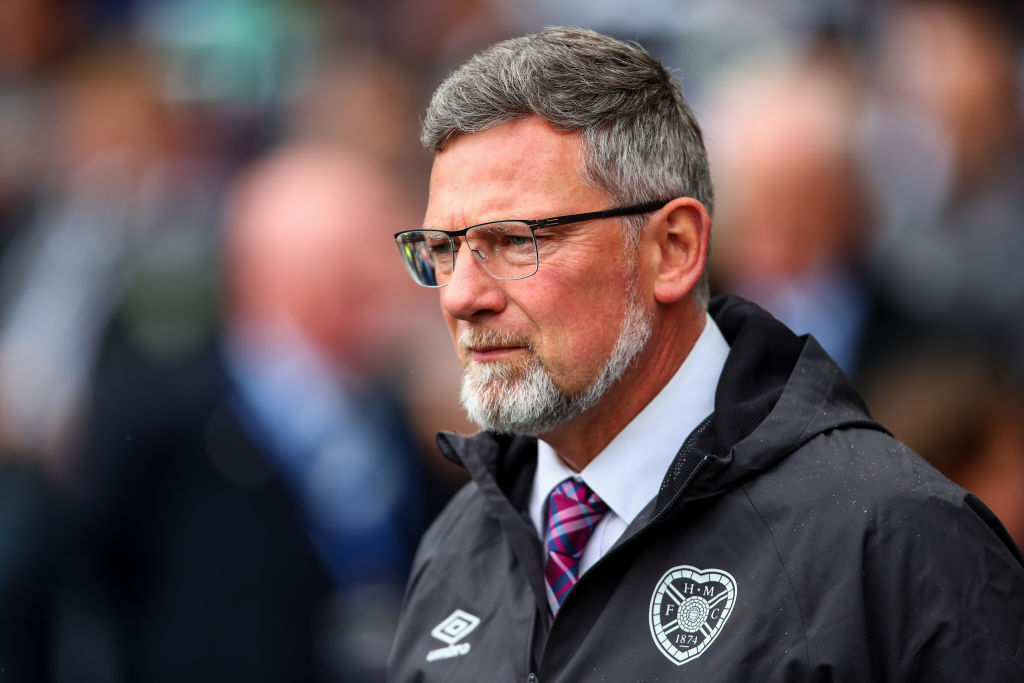 GLASGOW, SCOTLAND - MAY 25: Craig Levein the head coach / manager of Hearts during the William Hill Scottish Cup final between Heart of Midlothian and Celtic at Hampden Park on May 25, 2019 in Glasgow, Scotland.