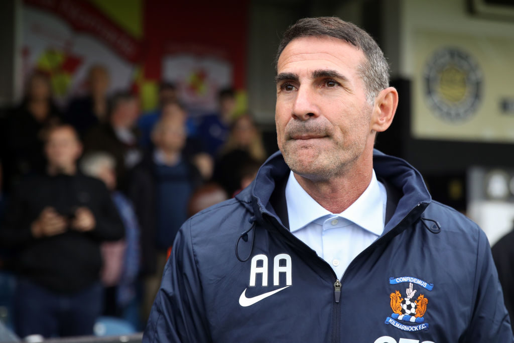 Is Kilmarnock's Angelo Alessio the new Ian Cathro?
