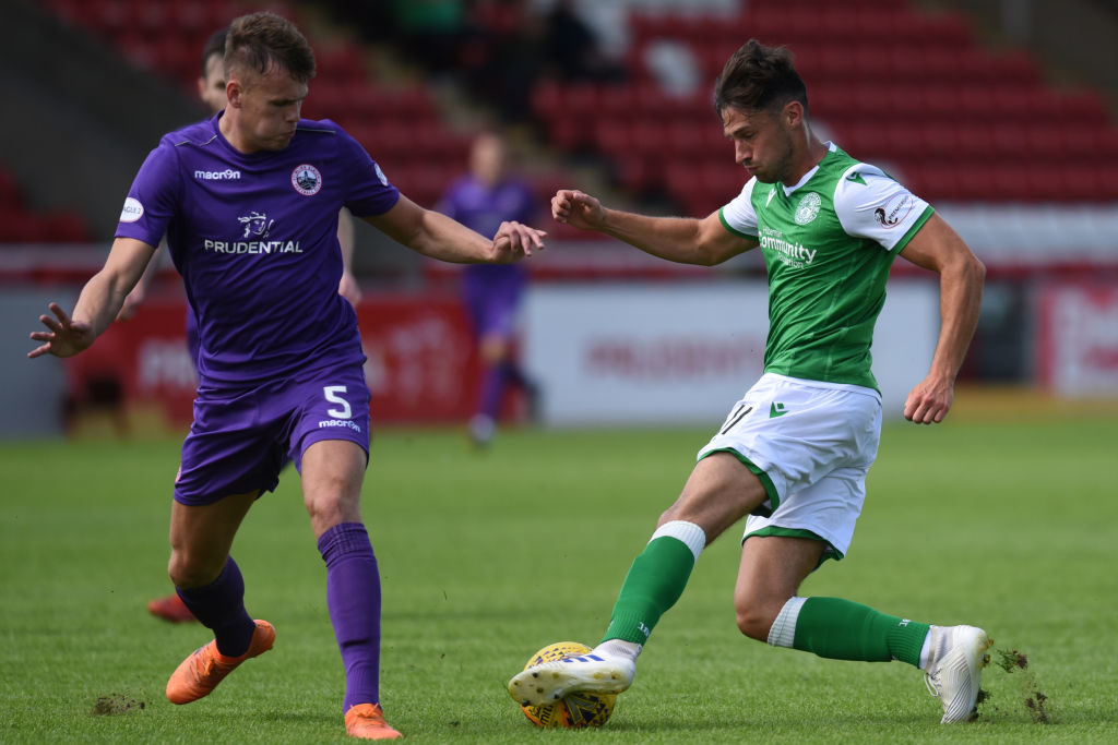 'It's been frustrating' - Hibs star provides positive update after 'annoying' injury