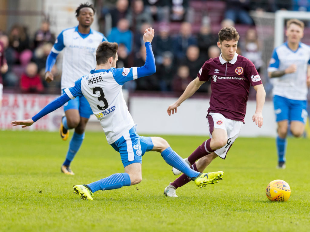 'You genius' - Some Hearts fans react as youngster nets first Jambos goal
