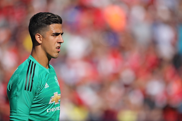 Hearts complete signing of goalkeeper Joel Pereira from Manchester United