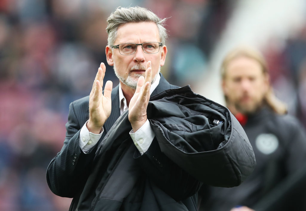 Hearts boss hopeful that training ground work will pay dividends