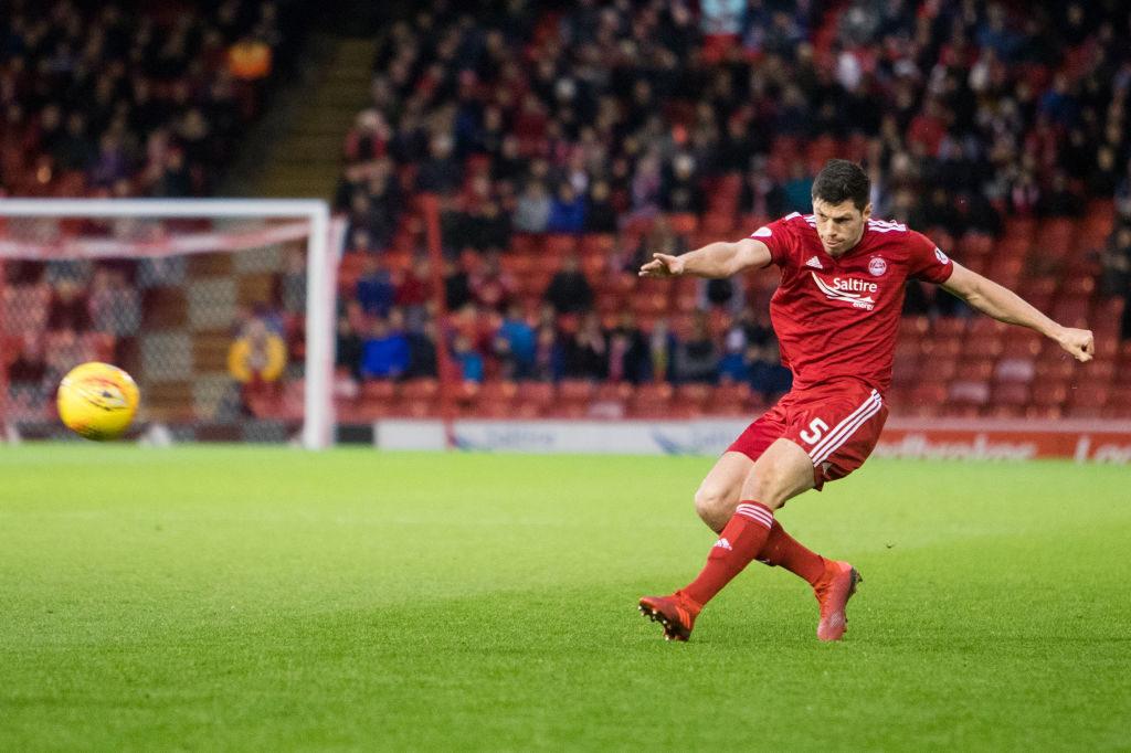 Aberdeen boss provides promising injury update on Dons lynchpin