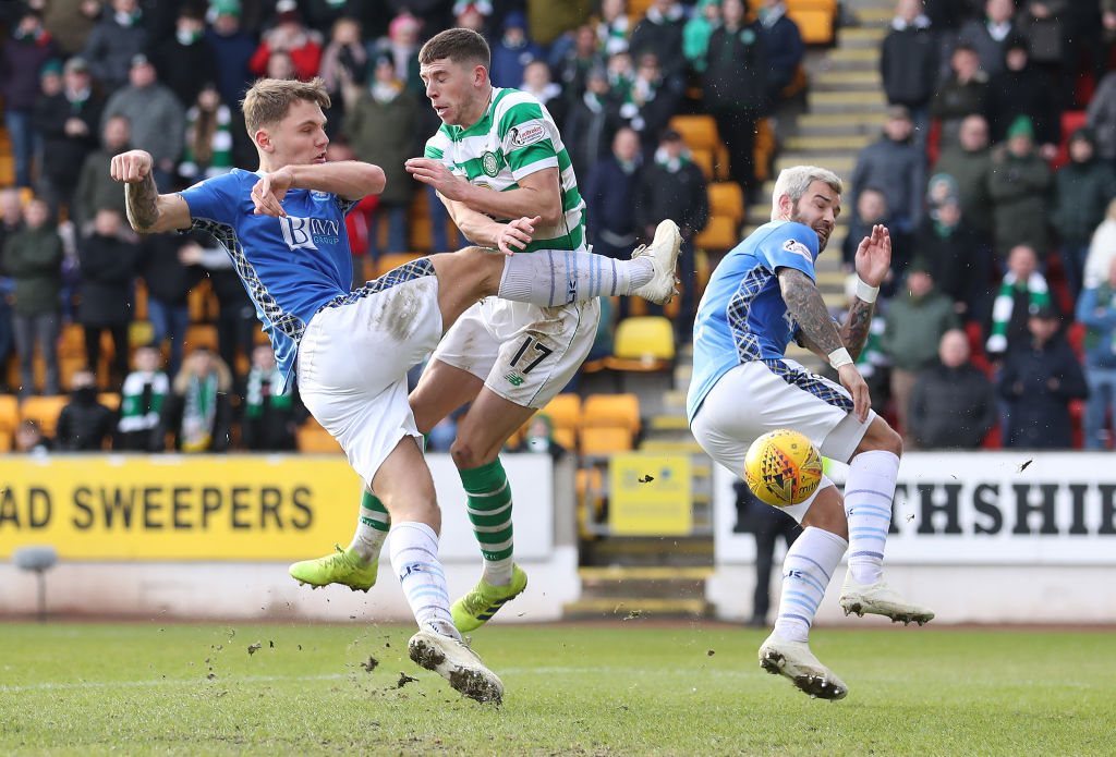 St Johnstone were hammered at Parkhead.