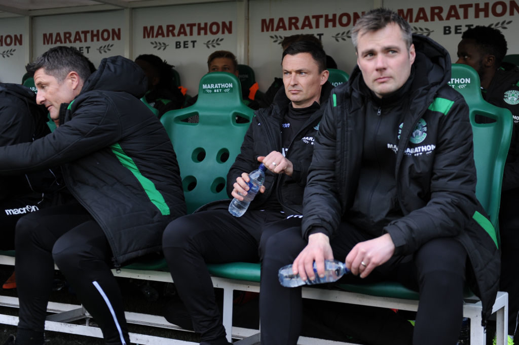 Hibernian boss provides rare piece of good news for disgruntled supporters