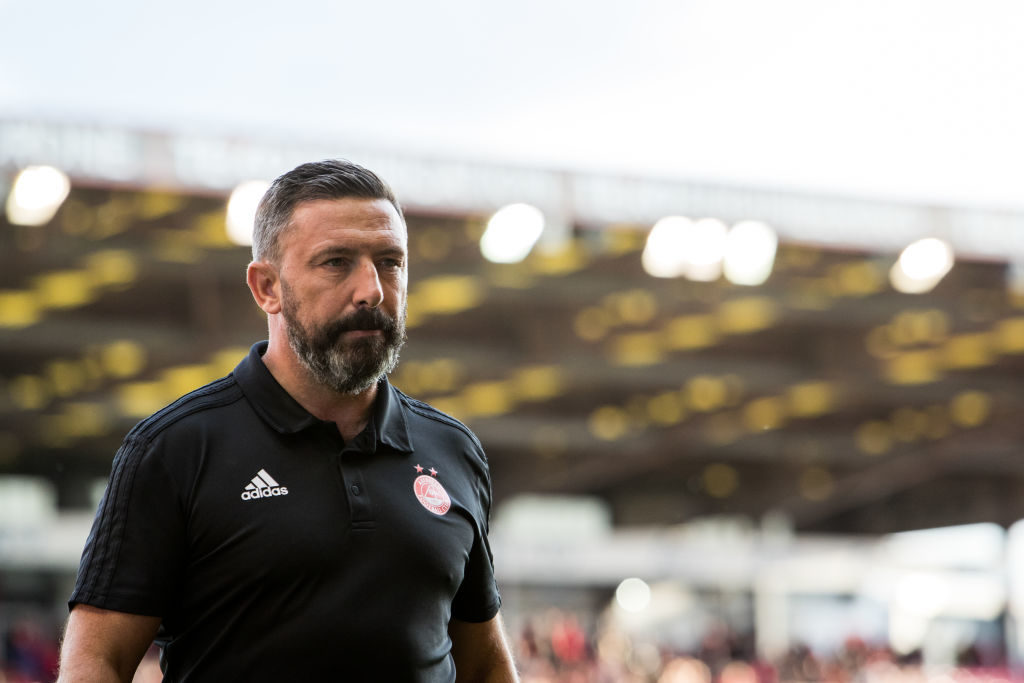 Aberdeen boss unhappy with 'self-inflicted' errors in recent game