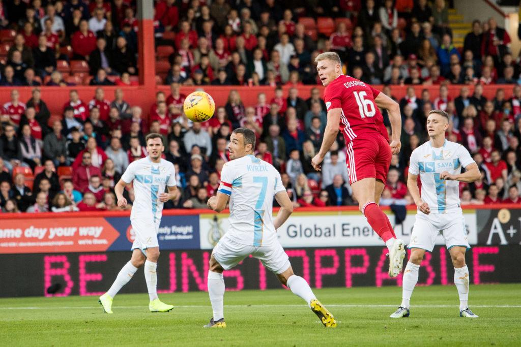 'I think the fans appreciated it' - Aberdeen man sends a message