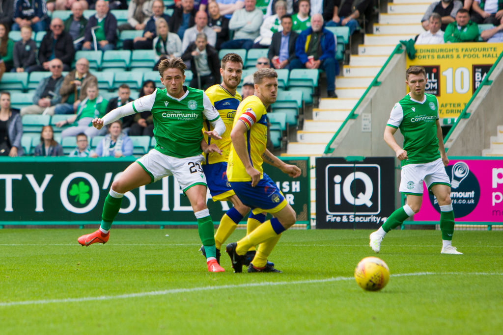 Increasingly influential Hibs star makes statement that fans should get excited about