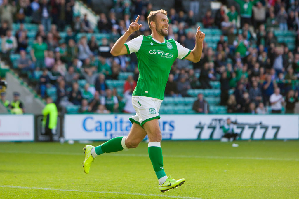 Hibs' weekend hero reckons Heckingbottom won't be happy with him after Perth exploits