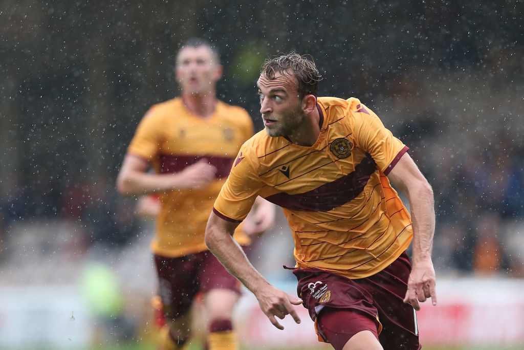 Wideman enjoying life at Motherwell after almost losing faith in football and people