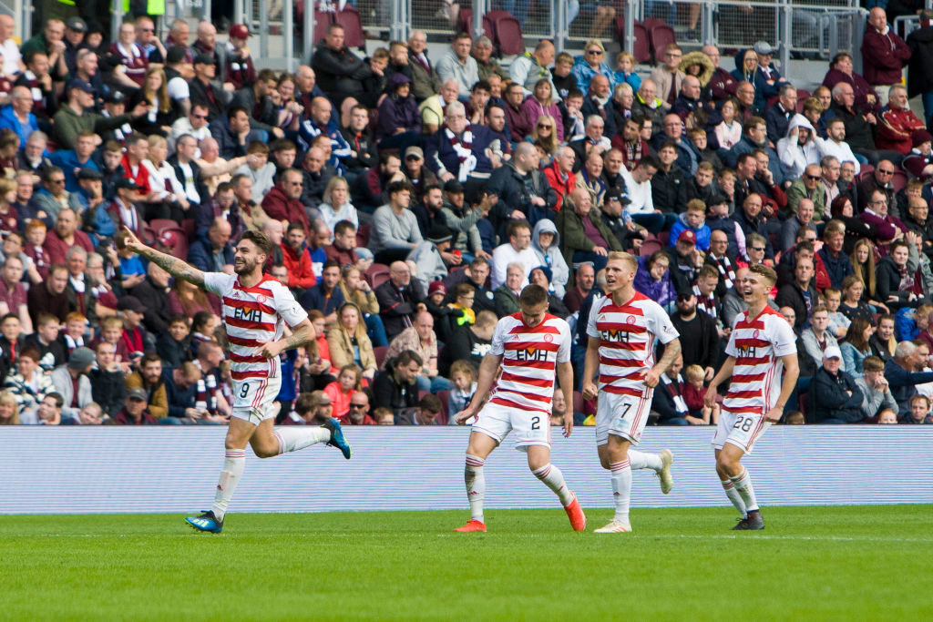 Hamilton Accies boss pleased with clinical efforts in Scottish Cup