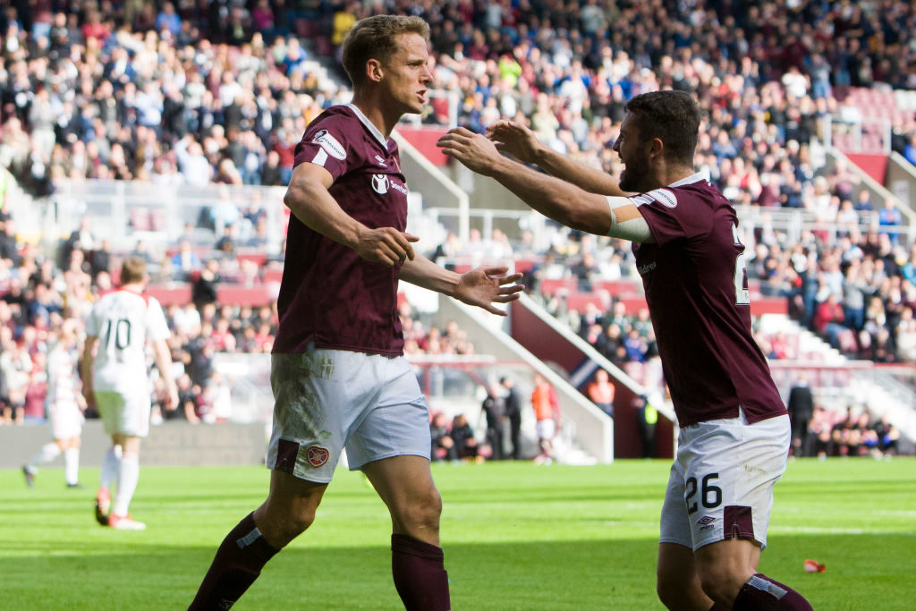 Hearts man in line for comeback performance at Ibrox