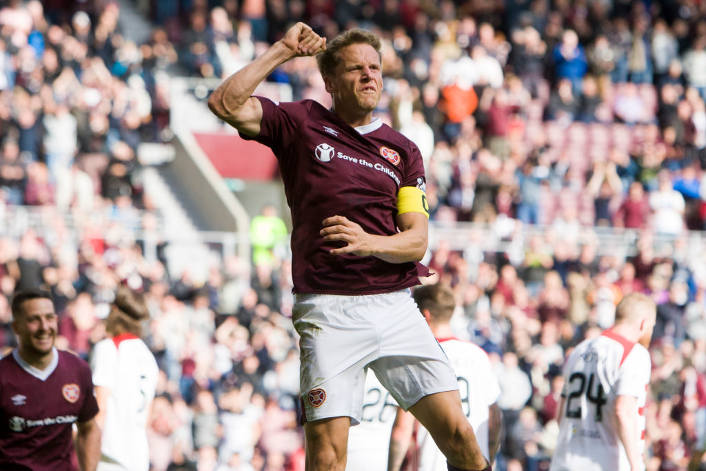 Hearts international issues strong warning to players