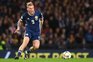 Some fans have reacted to SHeffiled United striker McBurnie dropping out of the Scotland squad.