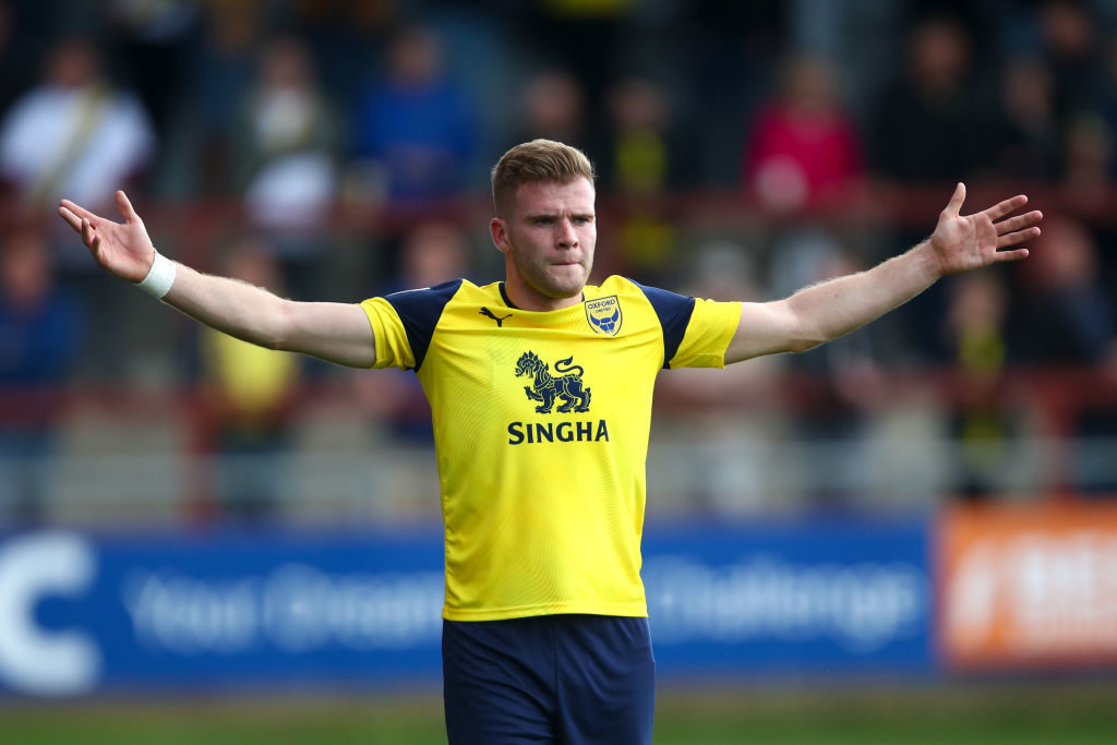 Oxford United star is not the guy to solve international problems