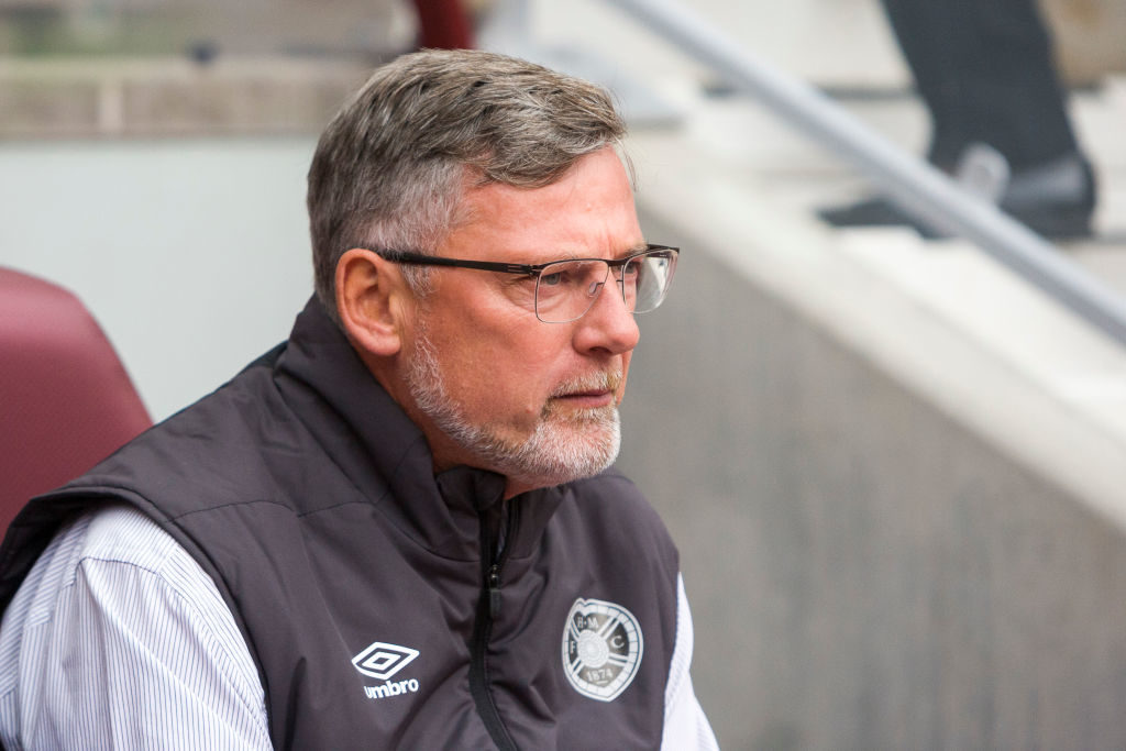 Has Hearts boss conceded that expectations are low ahead of crucial clash?