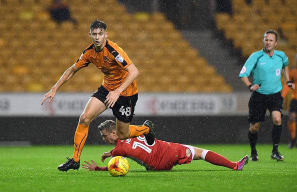 Wolves man throw in at the deep end on loan debut