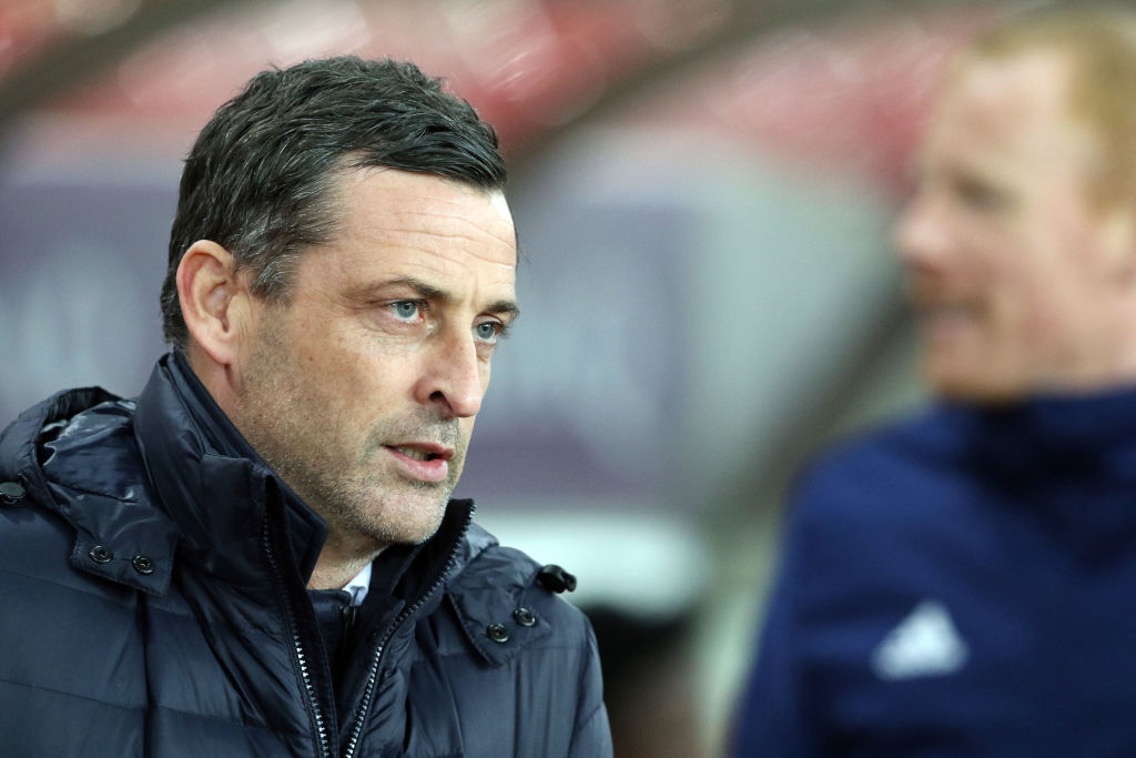 SUNDERLAND, ENGLAND - DECEMBER 11:Sunderland manager Jack Ross during the FA Cup second round replay between Sunderland and Walsall at Stadium of Light on December 11, 2018 in Sunderland, England.