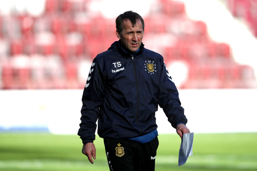 Auchinleck Talbot manager reacts following Scottish Cup draw with Arbroath