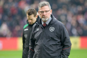 Craig Levein was removed from first-team duties in the autumn.