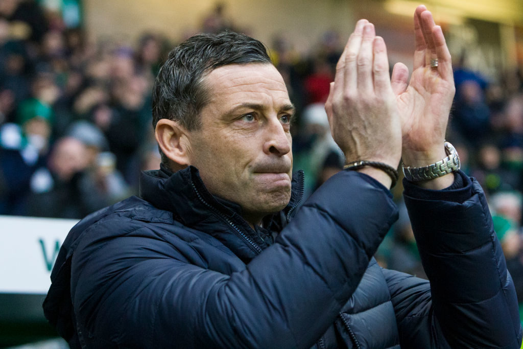 Hibs boss taking no pleasure from one aspect of victory