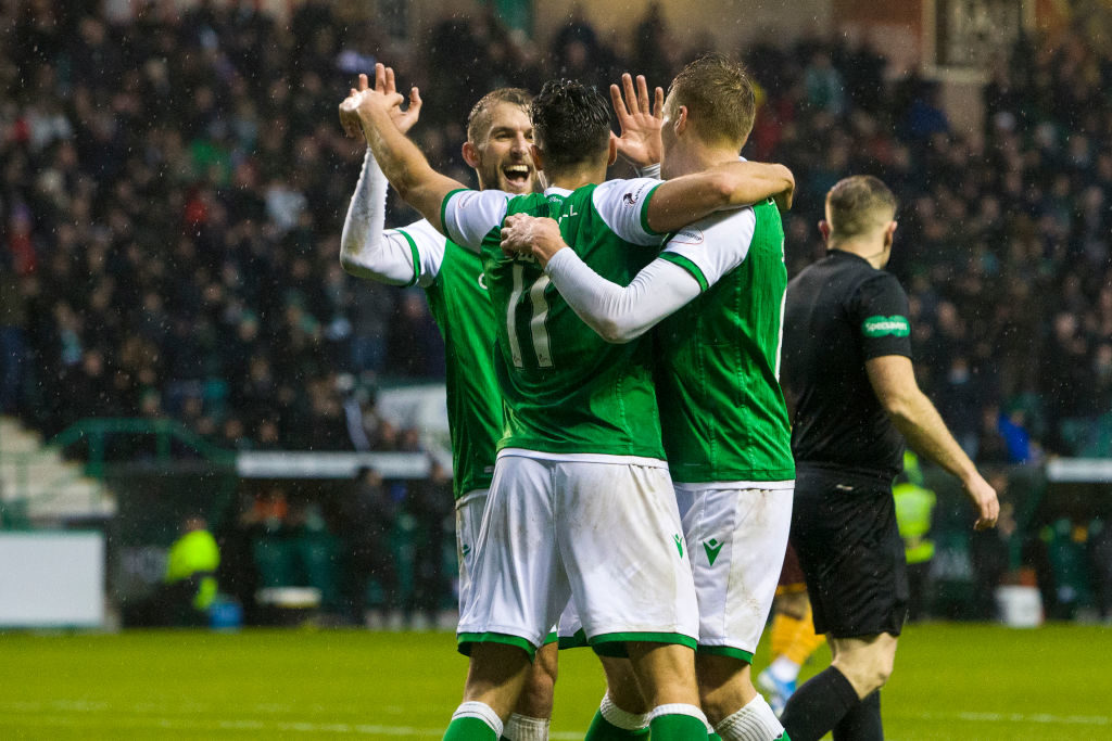 'We are unbeatable' - Some Hibs fans revel in Paisley success
