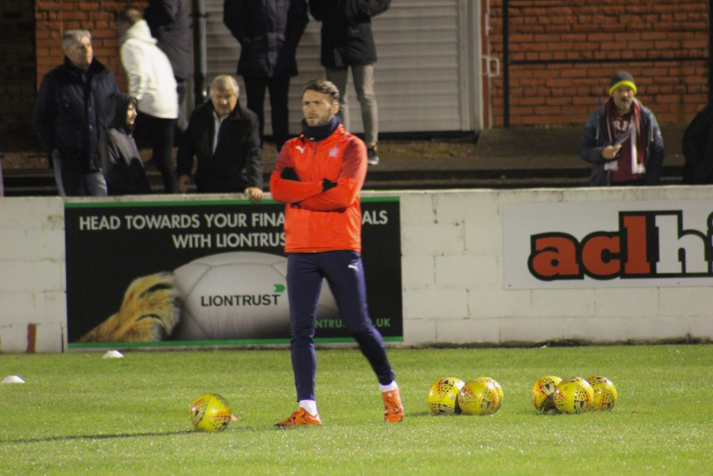 Interim boss delighted with Falkirk victory