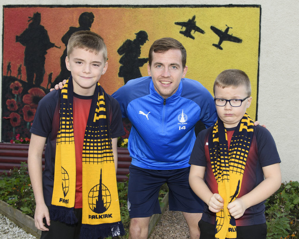Falkirk star's 'main objective when playing for the Bairns