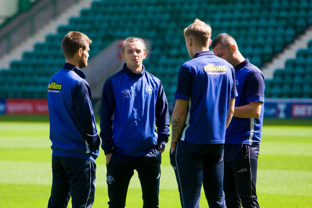 Hopkin hails 'unplayable' Morton star