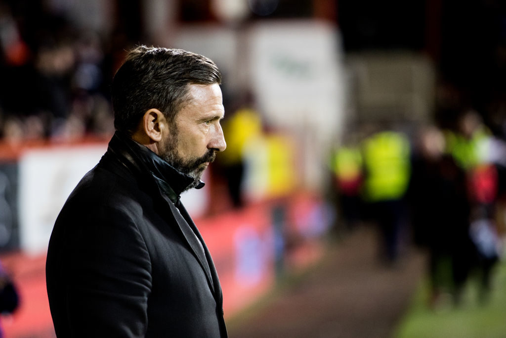 'Possibly' - McInnes questions Aberdeen change during defeat