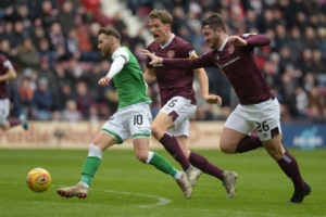 Craig Halkett scored for Hearts at the weekend
