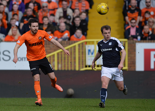 Former Dundee United man relishing Dundee 'abuse' on Tayside return