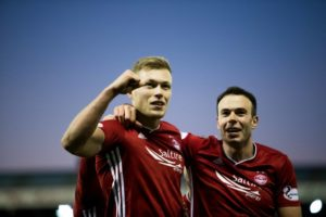 Cosgrove has moved to Birmingham City on a long-term deal as his Pittodrie run ends